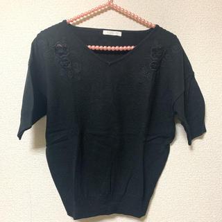 エージーバイアクアガール(AG by aquagirl)のagbyaquagirl ♡春刺繍ニット(ニット/セーター)