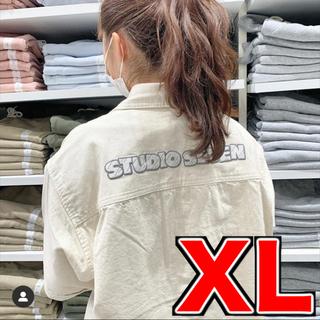 GU - GU × STUDIO SEVEN コラボ デニムワークシャツ S