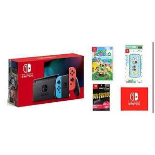 Nintendo Switch - Nintendo Switch(新型) ネオンカラー どうぶつの森セット