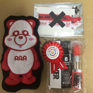 トリプルエー(AAA)のAAA グッズ 伊藤千晃 赤(ミュージシャン)