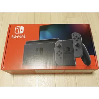 Nintendo Switch - 新型 ニンテンドースイッチ 本体 HAD-S-KAAAA グレー