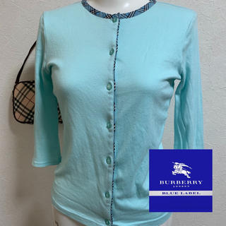 BURBERRY BLUE LABEL - Burberry☆七分袖カーディガンⓂ︎