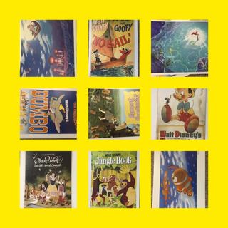 ディズニー(Disney)のディズニーキャラクターアートコレクション(ポスター)