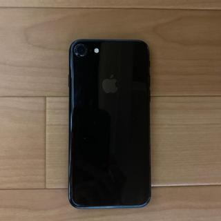アップル(Apple)のiPhone 7 Jet Black 128 GB SIMフリー(スマートフォン本体)