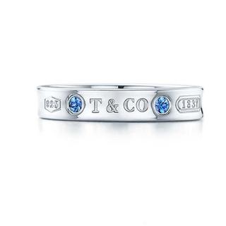 ティファニー(Tiffany & Co.)のtiffanyモンタナサファイアリング 7号(リング(指輪))