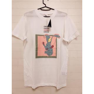ディズニー(Disney)の新品 M メンズ ディズニー ダンボ Tシャツ ホワイト(Tシャツ/カットソー(半袖/袖なし))