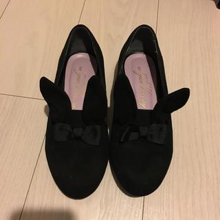 ハニーサロン(Honey Salon)のウサギ耳付きパンプス♡(ハイヒール/パンプス)