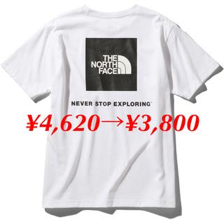 THE NORTH FACE - THE NORTH FACE ノースフェイス スクエアロゴ Tシャツ ホワイト