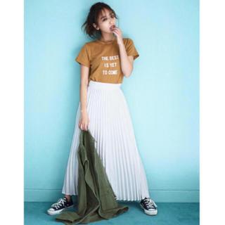 【新品未使用】titivate♡近藤千尋♡マットラバープリントロゴTシャツ♡