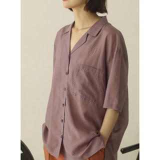 TODAYFUL - TODAYFUL トゥデイフル  Silk Boyfriend Shirts
