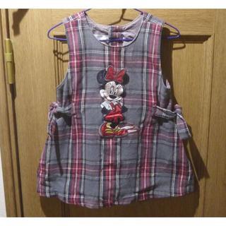 ディズニー(Disney)のDisneyStoreミニーちゃんジャンパースカート サイズ2/3T<a333>(スカート)
