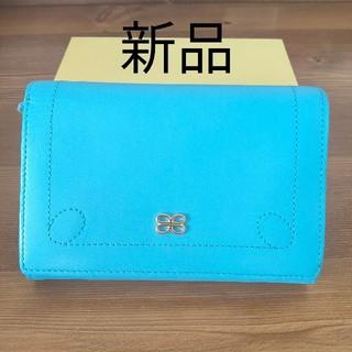 シマムラ(しまむら)の【新品】折り財布 ブルー(折り財布)
