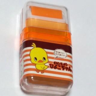 ニッシンショクヒン(日清食品)のチキンラーメンのひよこちゃん消しゴム(キャラクターグッズ)