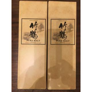 ニッカウイスキー(ニッカウヰスキー)の竹鶴17年 2本分 箱付き(ウイスキー)