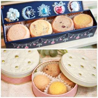 2缶セット クッキー缶 お菓子のミカタ(菓子/デザート)