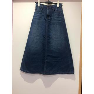 ジーユー(GU)のロングスカート スカート デニムスカート(ロングスカート)