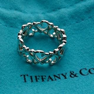 ティファニー(Tiffany & Co.)のティファニー ラビング ハート バンド リング 正規品(リング(指輪))