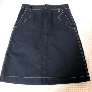 アーペーセー(A.P.C)の新品同様 A.P.C デニムスカート 台形スカート(ひざ丈スカート)
