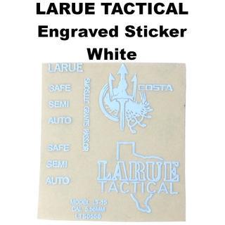 LARUE TACTICAL LT-15 刻印 メタルステッカー 1255r(カスタムパーツ)