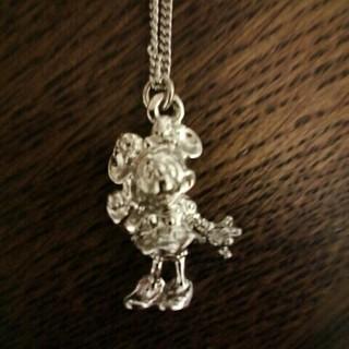ディズニー(Disney)のミニーちゃんネックレス(ネックレス)