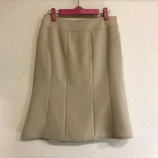 ボッシュ(BOSCH)のBOSCH ベージュ膝丈スカート(ひざ丈スカート)