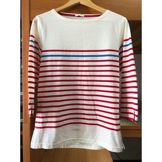 ジーユー(GU)のGU ボーダーカットソー  (Tシャツ/カットソー(七分/長袖))