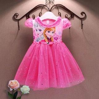 ディズニー(Disney)のアナ雪 エルサ アナ ワンピース ドレス 衣装 コスプレ(ワンピース)