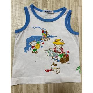 ファミリア(familiar)のファミリア familiar タンクトップ お話シリーズ(Tシャツ)