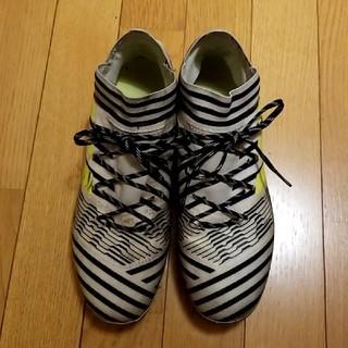 アディダス(adidas)のアディダス ネメシス17.2白黒26cm サッカースパイク(シューズ)