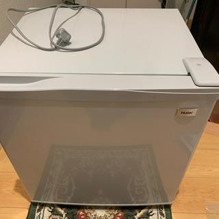 ハイアール(Haier)のハイアール 冷凍庫 38L JF-NU40G(S) [シルバー](冷蔵庫)