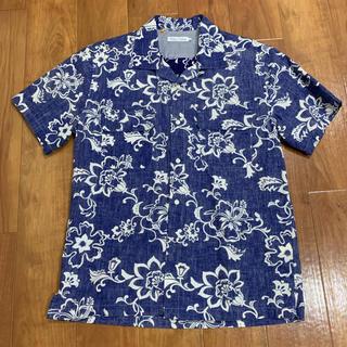 デラックス(DELUXE)の新品 未使用 DELUXE  アロハシャツ ビンテージ風 Sサイズ サーフ 柄(シャツ)