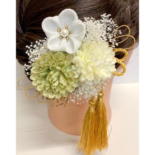 髪飾り 成人式 前撮り 着物 七五三 結婚式(ヘアアクセサリー)