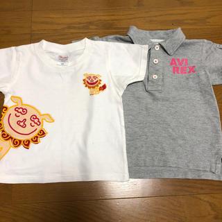 アヴィレックス(AVIREX)のキッズティシャツ AVIREX S 2枚セット 女の子(Tシャツ/カットソー)