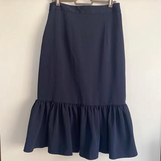 ジーユー(GU)のGU マーメイドスカート L(ひざ丈スカート)