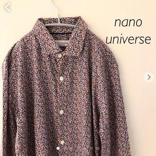 ナノユニバース(nano・universe)のナノユニバース  長袖シャツ Mサイズ nano universe(シャツ)