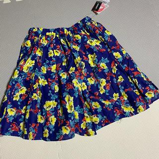 グローバルワーク(GLOBAL WORK)のグローバルワーク 花柄 スカート インナー付 ジュニア(スカート)