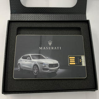 ★新品未使用品★マセラティ MASERATI レヴァンテカード型USB 非売品