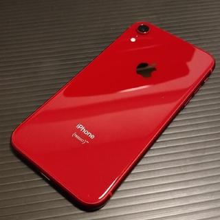 iPhone XR RED 本体 64G SIMフリー