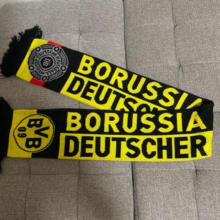 【未使用】ドイツで購入! BVBドルトムント(サッカー) マフラータオル(記念品/関連グッズ)