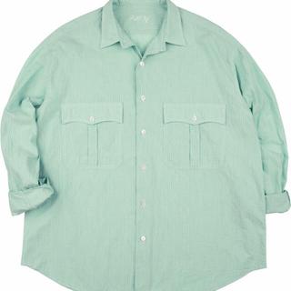 コモリ(COMOLI)のporterclassic 20ss ロールアップシャツ(シャツ)