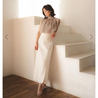 Noble - 【新品/タグ付き】 CACHEC × NOBLE スリットマキシスカート