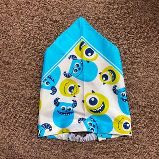 ディズニー(Disney)の【即日発送】モンスターズインク キッズ 幼児 ゴム付き三角巾(ヘアアクセサリー)