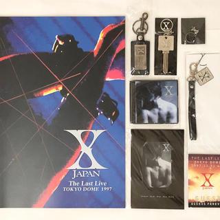 X JAPAN  The Last Live グッズセット(ミュージシャン)