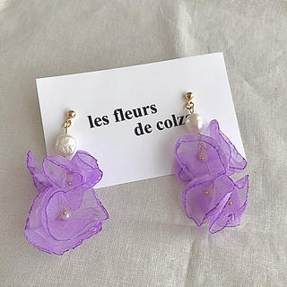 ニコアンド(niko and...)のlavender flower shower pierce/earring(ピアス)