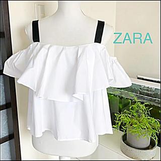 ZARA - ZARA☆肩開き トップス♡スタイリッシュで可愛い♪(*´꒳`*)