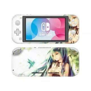 任天堂 Switch lite スイッチ ライト スキンシール ミク(家庭用ゲームソフト)