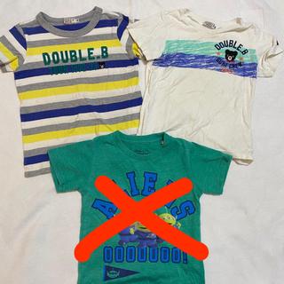 ダブルビー(DOUBLE.B)のTシャツ 3枚セット(Tシャツ/カットソー)