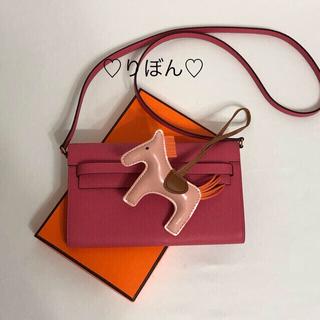 本革バッグ ❤️新作❤️可愛いリップピンク 特級品 エプソン