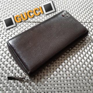 グッチ(Gucci)の【GUCCI】グッチ長財布 ラウンドジップ(長財布)