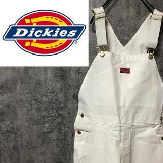 Dickies - 【デッドストック】ディッキーズ☆フラッシャー付きUSA製ロゴタグオーバーオール